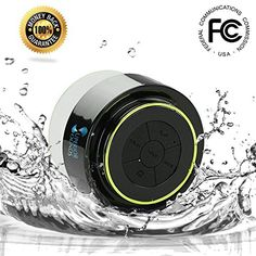 Waterproof Bluetooth Shower Speaker for Wireless Music Streaming
