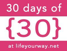 30-days-of-30