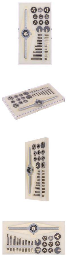 Taps and Dies 46458: 30Pcs~Metri Tap And Die Kit High Speed Steel Screw Taps Screw Dies M1.0-M2.5 -> BUY IT NOW ONLY: $36.99 on eBay!