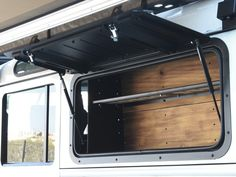 Front Runner Gullwing Window - Aluminium / Land Rover Defender | Storage Systems | Front Runner | Brands - Paddock Spares