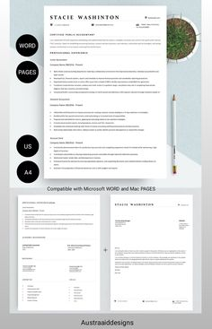 Resume Cover Letter Template, Cover Letter Format, Cv Resume Template, Letter Templates, Modern Resume Template, Creative Resume Templates, Resume Ideas, Application Letters, Professional Resume