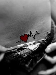 Heart Tattoo Design...as a health care worker I love this!!!!!