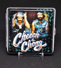 Cheech & Chong Style #6 Silver Framed PU Leather King Size Case