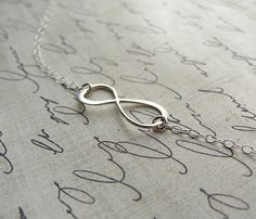 Silver Infinity Bracelet...one for me, one for her :)