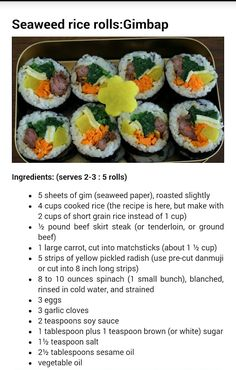 Recipe and food healthy