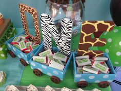 Baby Safari Birthday Party Ideas | Photo 1 of 16 | Catch My Party
