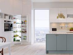 Kitchens, Kitchen Cabinets, Cold, Nature, Table, Furniture, Home Decor, Modern, Naturaleza
