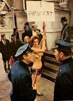 Feminist protest shoot.