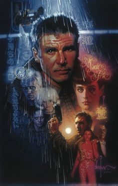 Blade Runner art by Drew Struzan!