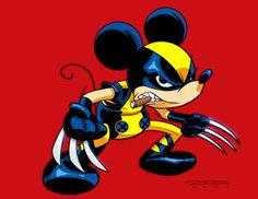 Mickey Wolverine Mashup