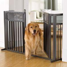 Wrought Iron Expanding Pet Gate