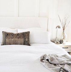 Linen Duvet + Pillow Shams - White