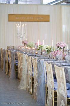 Wedding Chair Decorations | Something Borrowed Wedding DIY