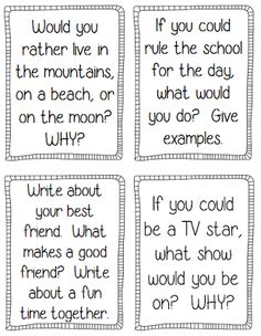 of the Year Activities and Printables Journal prompts, printables, and fun activities to keep kids engaged at the end of the year!Journal prompts, printables, and fun activities to keep kids engaged at the end of the year! Writing Prompts For Kids, Writing Lessons, Teaching Writing, Creative Writing, 3rd Grade Writing Prompts, Writing Topics, Writing Ideas, Kids Writing, Journal Prompts For Kids