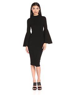 Milly Women's Swing Sleeve Dress Long, Black, S MILLY https://www.amazon.com/dp/B01HEHE4T4/ref=cm_sw_r_pi_dp_x_7znOxbT6KZS0H
