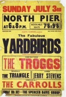 Yardbirds, Troggs
