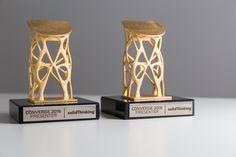 3D printed award - custom made trophies - design awards