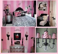 "As a gift for my daughter's Jalyn's 10th birthday this year, we're remodeling her beautiful ""princess"" room into a gorgeous ""Tween"" girl room... I just LOVE the Audrey Hepburn Diva inspired look and the furniture here is simply stunning!!! :)"