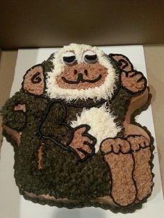 spider monkey cake