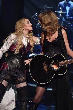 Madonna und Taylor Swift überraschten alle mit ihrem Auftritt bei den iHeartRadio Music Awards in Los Angeles