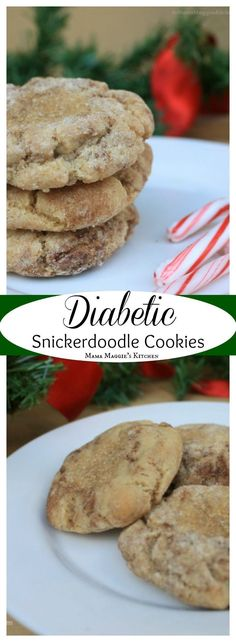 Diabetic Snickerdoodle Cookies – low carb and delicious cookies. by Mama Maggie&… Diabetic Snickerdoodle Cookies – low carb and delicious cookies. by Mama Maggie's Kitchen More from my siteSnickerdoodle Creme Cookies (low carb, keto) Sugar Free Cookies, Sugar Free Desserts, Sugar Free Recipes, Low Carb Desserts, Delicious Cookies, Low Carb Recipes, Desserts For Diabetics, Cookies For Diabetics, Baking For Diabetics