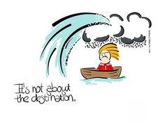 It's not about the destination
