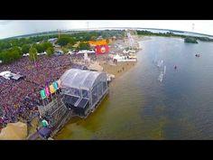 Strandfestival Zand | ALMERE - 2014 | Drone Beelden! - YouTube