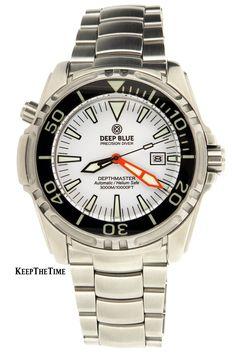 Deep Blue Depthmaster 3000m Sapphire Bezel Dive Watch