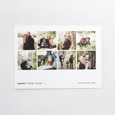 This 18 x 13 cm  flat card is printed on premium quality 100% recycled paper. Customize the design with your favorite photo and a personalized greeting.
