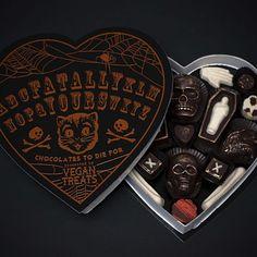Vegan Halloween chocolate treats