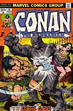 Conan the Barbarian #36 - Beware the Hyrkanians Bearing Gifts...! (Issue)