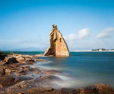 Torre De San Sadurniño en Cambados, #Galicia vía @sabelaperez #SienteGalicia Spas, Celtic Nations, Nature Pictures, Tatoos, Castle, Traveling, Water, Outdoor, Hiking Trails