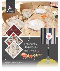 Habitus Brasil oferece um moodboard com as tendências em tecidos para móveis e acessórios. #tendências #arquitetura #móveis #tecidos #estofados #estampas #habitusbrasil