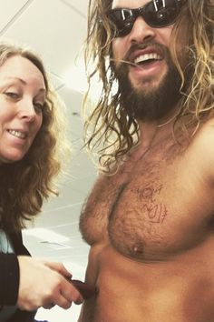 It's Somebody's Job to Shave Jason Momoa's Chest Hair For Aquaman, So Now We Might Change Careers