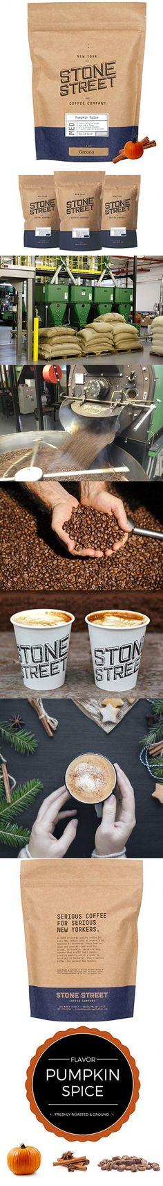 Stone Street Coffee Freshly Roasted Colombian Arabica Cinnamon/Nutmeg Creamy PUMPKIN SPICEGround Coffee, 1 lb Street Coffee, Stone Street, Ground Coffee, Pumpkin Spice, Cinnamon, Roast, Spices, Candy, Food