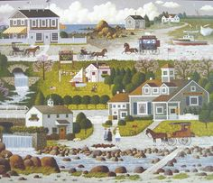 Crickethawk Harbor - Charles Wysocki