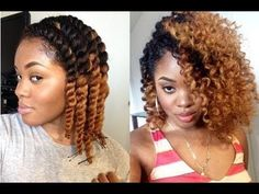 Natural Hair | DEFINED Chunky Flat Twist Out