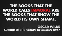 Oscar Wilde, author of THE PICTURE OF DORIAN GRAY #bannedbooksweek