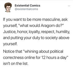 Masculinity : Gentlemen