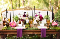 Enchanted Forest Wedding Inspiration   Enchanted forest ...