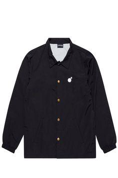 The Hundreds Bar Logo coaches jacket $72