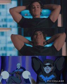 Batwoman, Nightwing, Batgirl, Math Comics, Dc Comics Art, Dc Universe, Titans Tv Series, Richard Grayson, Brenton Thwaites