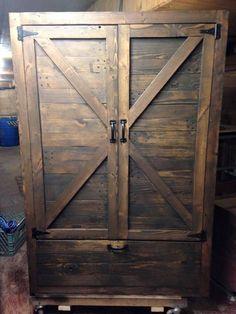Pallet #Wardrobe - Wood Pallet Closet | Pallet Furniture