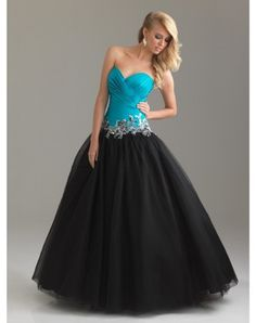 Trendy A-line Sweetheart Paillette Sleeveless Floor-length Chiffon Prom Dresses Evening Dresses