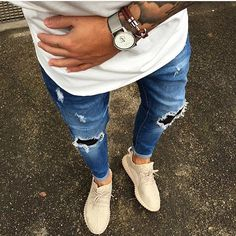 Summer street fashion for men