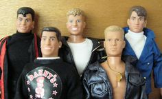 I loved New Kids on the Block - but you weren't a real fan unless you had the ken dolls of them!