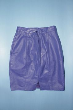 Items similar to Danier Leather - Purple Vintage Leather Pencil Skirt on Etsy Vintage Leather, Leather Skirt, Indie, Casual Shorts, Purple, Trending Outfits, Skirts, Etsy, Shopping