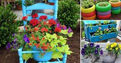 Creative Ideas15 Recycle Ideas For A Beautifully Decorated Garden - Creative Ideas