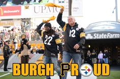 Look who joined the 10/20/13 Terrible Towel Twirl... #BurghProud with Cutch and Clint Hurdle!