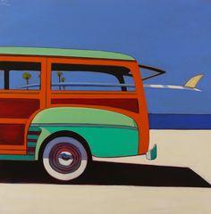 Surf Wagon by Melissa Chandon
